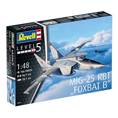 Revell Revell Maket 1:48 Mig-25 RBT Renkli